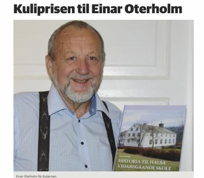 Kuliprisen til Einar Oterholm