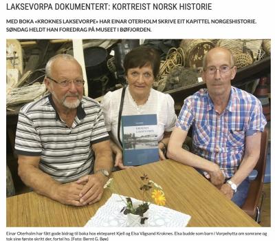 Laksevorpa dokumentert: Kortreist norsk historie